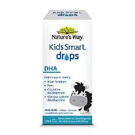 Bổ sung DHA tinh khiết Nature's Way Kids Smart Drop DHA  giúp trẻ thông minh từ lúc chào đời
