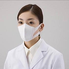 Khẩu trang 3D Unicharm Nhật Bản ngăn ngừa khói bụi, thuốc lá (hộp 100 chiếc)