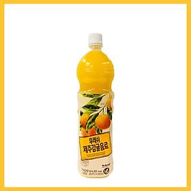Nước Ép Quýt Jeju Chai 1,5L Giải Khát Bổ Sung Vitamin C