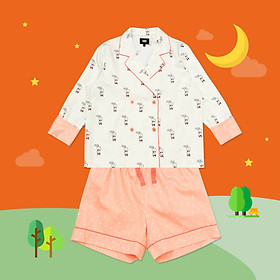 BT21 x HUNT Crop Pajama Set Rj HIPP91201T