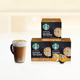 Viên cà phê caramel Macchiato của Starbucks