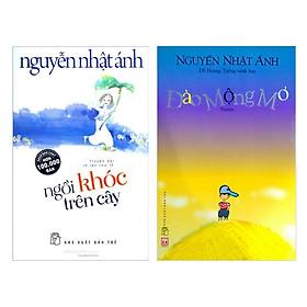 Combo 2 cuốn truyện hay nhất của tác giả Nguyễn Nhật Ánh:  Ngồi Khóc Trên Cây +  Đảo Mộng Mơ ( Tặng kèm Postcard Happy Life)