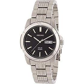Seiko Men's SNE093 Stainless Steel Solar Watch