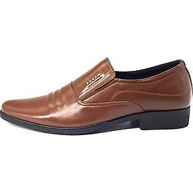 Giày tây nam L1621MN da bò cao cấp (tặng kèm ví da)