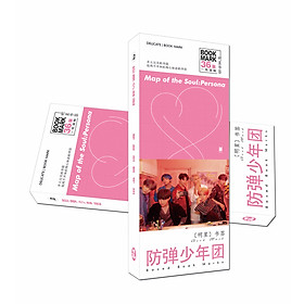 Hộp Bookmark Bts persona map of soul