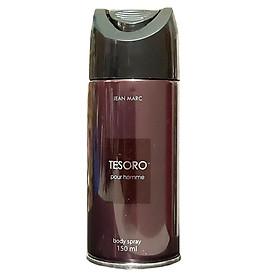 Xịt khử mùi toàn thân nam Jean Marc Tesoro 150ml