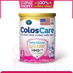 Sữa non Nutricare ColosCare 0+ hỗ trợ tiêu hóa, tăng cường hệ miễn dịch cho bé (400g)