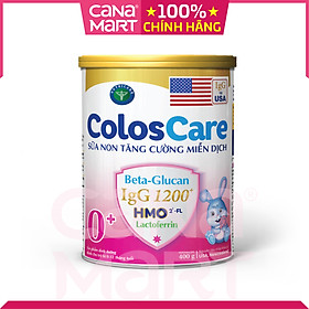 Sữa non Nutricare ColosCare 0+ hỗ trợ tiêu hóa, tăng cường hệ miễn dịch (400g)