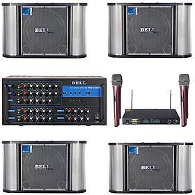 Bộ dàn karaoke 4 loa BellPlus PA - 9100