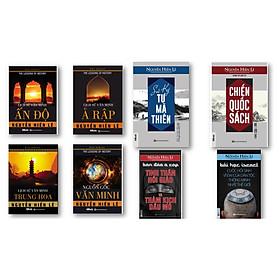 Bộ 8 cuốn sách về lịch sử - tinh hoa của văn minh thế giới nt (Sử ký Tư Mã Thiên,Bán đảo Ả Rập Tinh Thần Hồi Giáo ,Bài học Israel cuộc hồi sinh vĩ đại ,Lịch sử văn minh Trung Hoa,Lịch sử văn minh Ả Rập,Lịch sử văn minh Ấn Độ,Chiến Quốc Sách,Nguồn Gốc Văn Minh