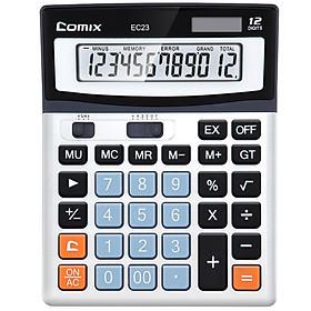 Máy Tính 12 Số Màn Hình Lớn COMIX EC23
