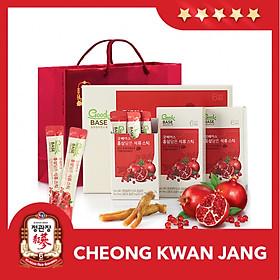 Nước Hồng Sâm Goodbase Lựu KGC Cheong Kwan Jang (10ml x 30 gói) - Nước Sâm Pha Vị Trái Cây, Sâm Hàn Quốc