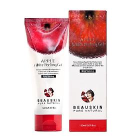 Tẩy tế bào chết da mặt sạch nhờn mụn ngăn lão hóa tránh bắt nắng dạng Gel Beauskin Apple White Peeling Gel, Hàn Quốc 150 ml