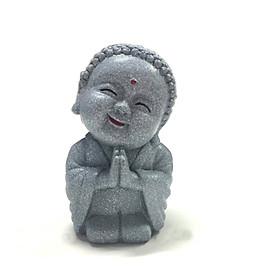 Tượng đá phật cười - màu đá