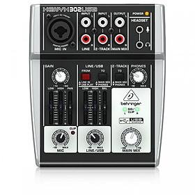 Mixer 3 cổng Behringer XENYX 302USB - Hàng Nhập Khẩu