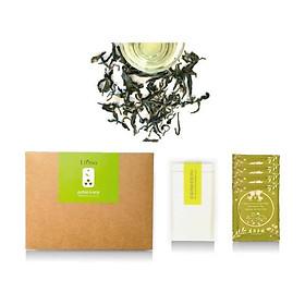 Trà xanh uống lạnh hương mật ong không thuốc trừ sâu Liping Cold Brew Honey Green Tea 50g/ 8 gói