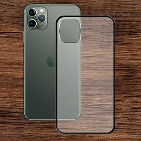 Ốp lưng Iphone 11 Pro Max - Bề mặt nhám chống vân tay, lưng cứng, viền TPU dẻo - 02137 - Hàng Chính Hãng