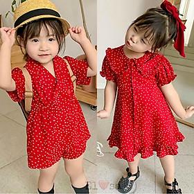 Váy bé gái TYM đỏ