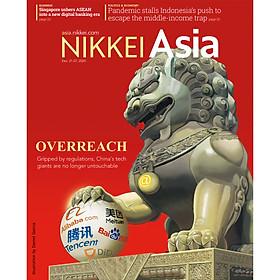 Nikkei Asian Review: Nikkei Asia - OVERREACH - 50.20, tạp chí kinh tế nước ngoài, nhập khẩu từ Singapore