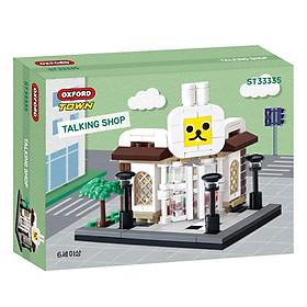 Đồ chơi lắp ráp - Chính hãng Hàn Quốc - Khu Trò Chuyện Oxford ST33335 -  gồm 159 mảnh ghép dành cho bé 6 tuổi trở lên