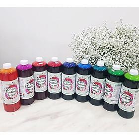 Dung Dịch Nhuộm Hoa tươi Đổi 10 Màu (Combo 10 chai x 10 màu) theo Công Nghệ Israel giúp hoa nhuộm đổi màu theo ý muốn – The Color Sodium for Fresh Flowers