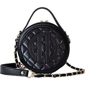 Túi nữ cao cấp da thật ELLY- ET111 đen
