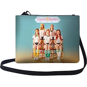 Túi Chéo Nữ In Hình Red Velvet - Russian Roulete - TUKP403 (24 x 17 cm)