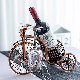 Kệ Rượu Kèm Giá Treo Ly DH-BK009