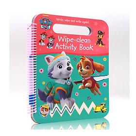 Nickelodeon PAW Patrol Wipe-Clean Activity Book - Chú chó cứu hộ