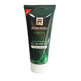 Gel vuốt tóc Romano Classic Siêu cứng 150g- Mẫu mới