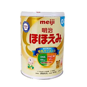 Sữa Meiji Hohoemi Số 0 (0- 1 Tuổi ) - Lon 800gr - Nội Địa Nhật Bản
