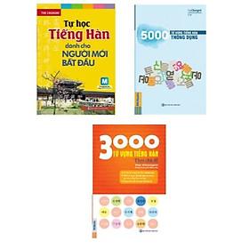 Combo sách: Tự Học Tiếng Hàn Dành Cho Người Mới Bắt Đầu + 5000 Từ Vựng Tiếng Hàn Thông Dụng + 3000 Từ Vựng Tiếng Hàn Theo Chủ Đề