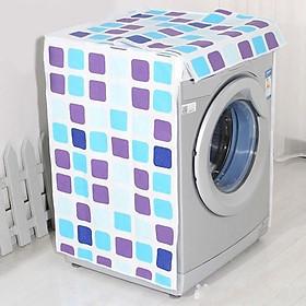 Vỏ bọc máy giặt cao cấp dùng cho máy giặt lồng đứng , lồng ngang từ 7-10kg , kích thước 64x61x90 phủ máy giặt an toàn, chống thấm , chống bụi bẩn