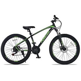 Xe đạp địa hình hiệu FORNIX Climber, vòng bánh 26'. màu Đen xanh lá