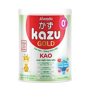 [Tinh tuý dưỡng chất Nhật Bản]  Sữa bột KAZU KAO GOLD 810g 0+ (dưới 12 tháng)