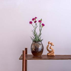 Khao khát – tượng gỗ điêu khắc thủ công trừu tượng - quà tặng nghệ thuật trang trí nhà – bộ sưu tập love