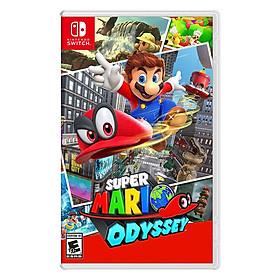 Đĩa Game Nintendo Switch Super Mario Odyssey - Hàng Chính Hãng