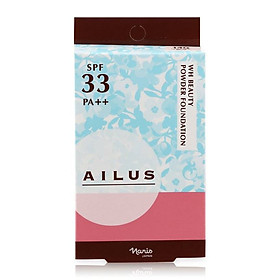 Phấn nền sáng da Naris Ailus WH Beauty Powder Foundation-12