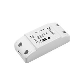 Công tắc điều khiển từ xa 10A qua Wifi ( Tặng kèm 01 nút bịt ổ điện bảo vệ an toàn )