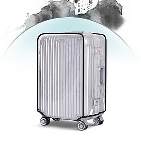 Travel Luggage Protector Suitcase Protective Cover Storage Dust-proof PVC