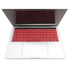 Miếng lót bàn phím in chữ Silicon skin keyboard Macbook Pro Retina 15 Inch có thể rửa - Hàng Chính Hãng