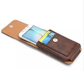 Bao da đựng điện thoại đeo ngang hong
