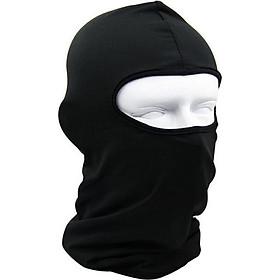 Khăn Ninja Trùm Đầu - Màu Đen