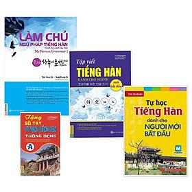 Combo 3 Cuốn Học Tiếng Hàn Dành Cho Người Mới Bắt Đầu Tặng Kèm Sổ Tay Tiếng Hàn A Và Video 6000 từ vựng tiếng Hàn Quốc thông dụng qua hình ảnh - Learn Korean Vocabulary by image