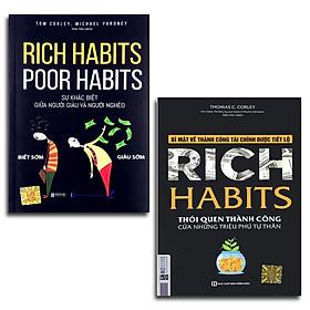 Sách - Rich Habits - Sự Khác Biệt Giữa Người Giàu Và Người Nghèo + Bí Mật Về Thành Công Tài Chính Được Tiết Lộ (tùychọn)