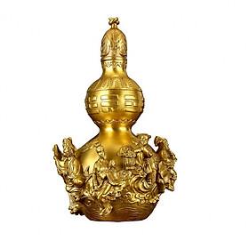 Tượng hồ lô bát tiên bằng đồng thau phong thủy Tâm Thành Phát