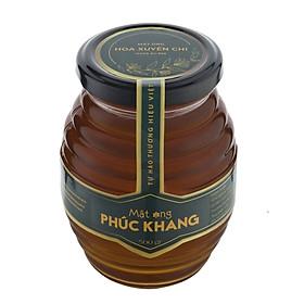 [ Mật ong ] cao cấp xuất khẩu Hoa Xuyến Chi Phúc Khang Hũ (500g) - Hàng Chính Hãng  - Mật ong sạch , mật ong cao cấp đạt tiêu chuẩn xuất khẩu - Bồi bổ cơ thể , tăng sức đề kháng