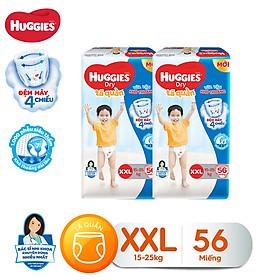Combo 2 tã quần Huggies Pants Super Jumbo XXL56