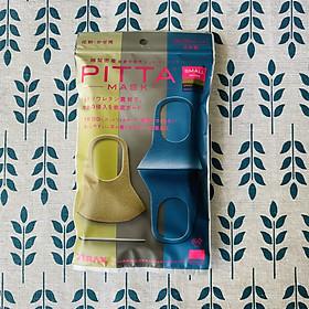 Khẩu Trang Pitta Nhật Bản Small Mode - Gói 3 cái khác màu (mẫu mới 2020)
