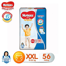 Tã quần siêu thấm Huggies Super Jumbo XXL gói 56 miếng-1